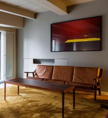 Hans J. Wegner Lounge Set (Sofa)